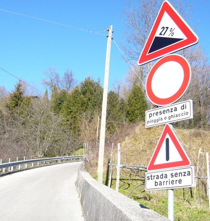 La salita di Vigna - Castelnovo del Friuli