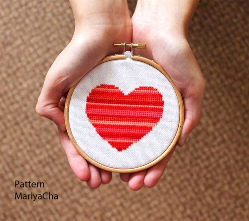 valentine needlepoint pillows
