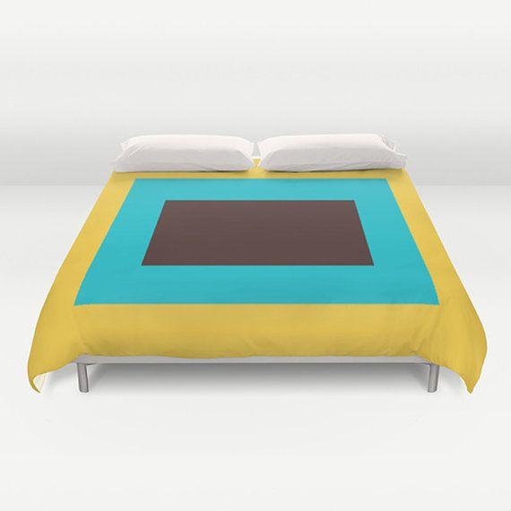 Modern Duvet Cover Designer duvet cover Colors duvet by thegretest, $190.00