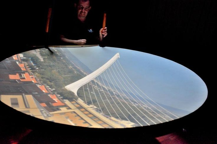 The Camera Obscura in Seville offers a great view of the city and a wonderful introduction to this beautiful historic city.