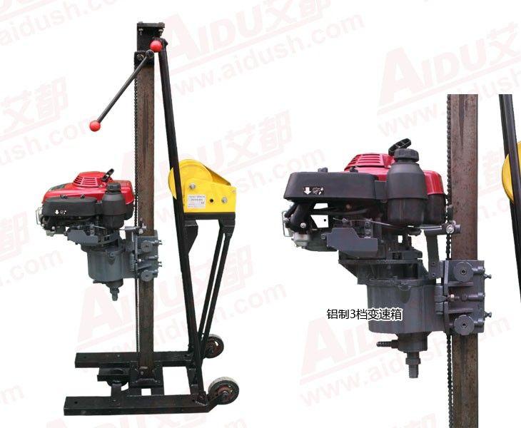 Bottom price AD-15 multi-function portable rock drill core sampling hand drill machine