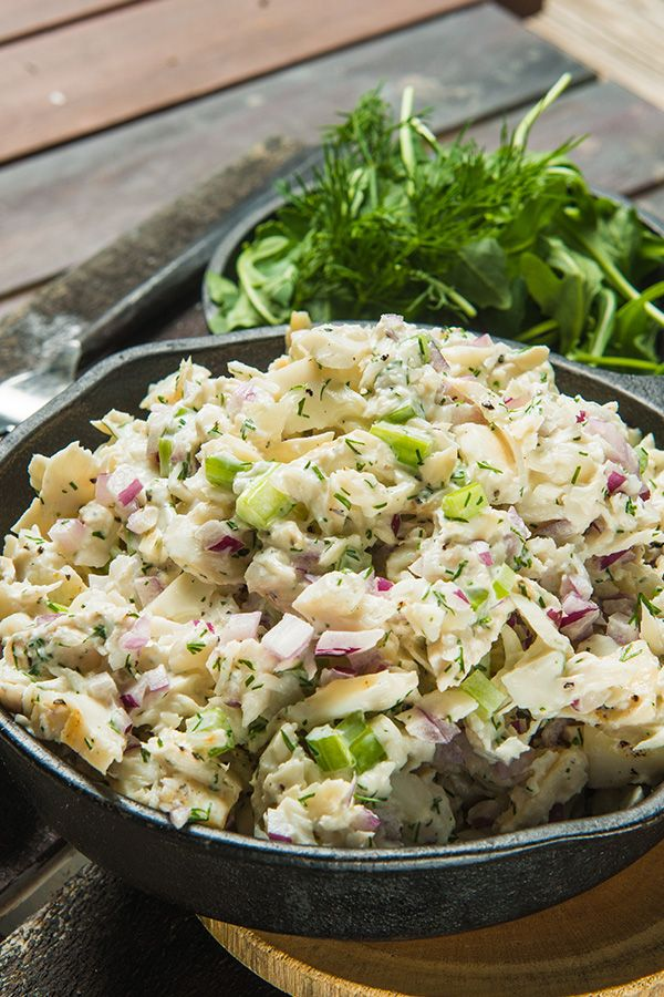 Smoked Whitefish Salad is a staple in any NY deli. Serve it on bagels for breakfast or crackers for your next holiday party.
