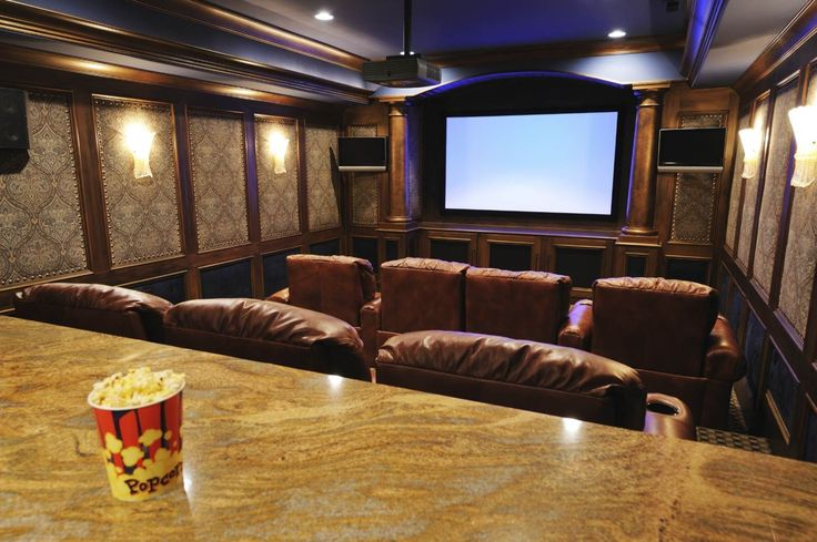 The basement is an absolutely perfect spot for an awesome hangout, and a home bar, a practical home office and even a much needed kids' playroom. tag:basement home theater design, basement home theater ideas, basement home theater plans, basement home theater setup, DIY ideas, simple, best, small, awesome, bar design. #hometheaterinstallation