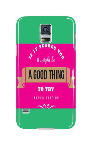Mobile Case - iPhone - Samsung - Tablet - If its scares you it might be a good thing