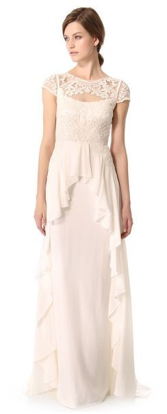 REVEL: Elegant Lace Gown
