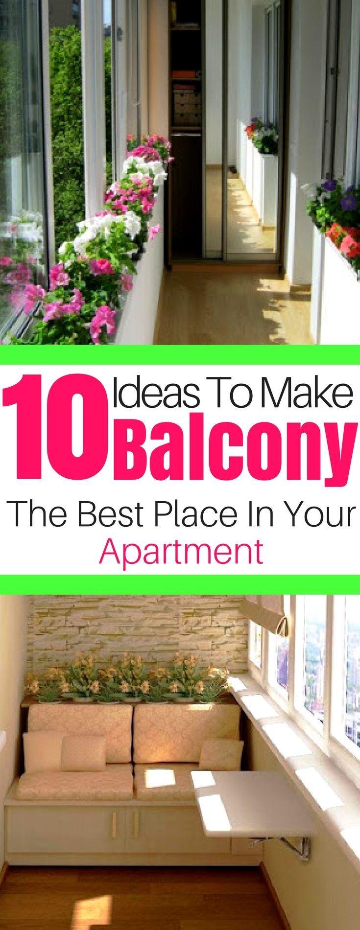 10 Ideas To Make Your Balcony The