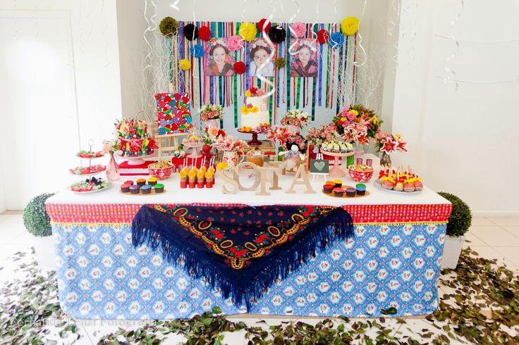 Frescurinhas Personalizadas: Festa Frida Kahlo!