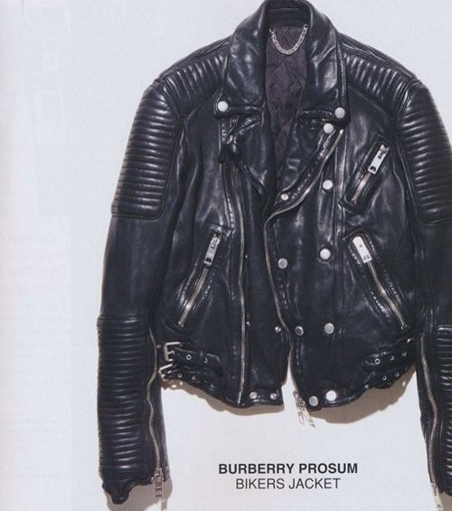 beautifully aged leather jacket. It's classic, never goes out of style and it goes with almost everything. Must find one like it.