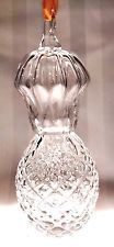 STEUBEN Glass PINEAPPLE Christmas Ornament | signed crystal rare...