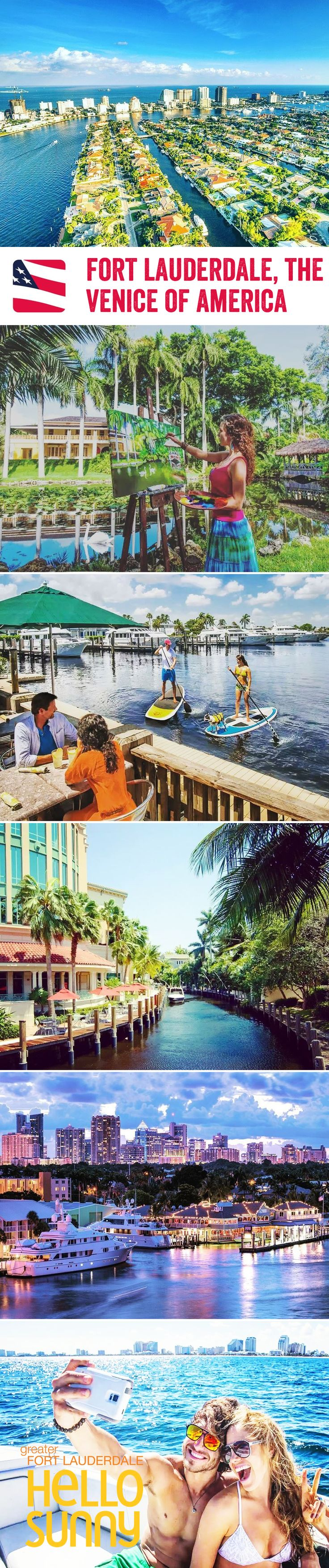 Millionaire's Row, Las Olas Boulevard, a coach that turns into a boat…come and discover Fort Lauderdale, the Venice of America