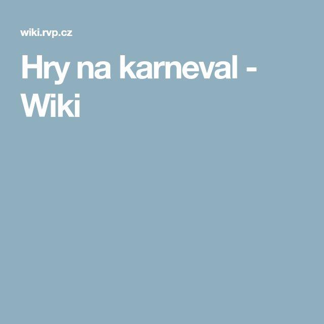 Hry na karneval - Wiki
