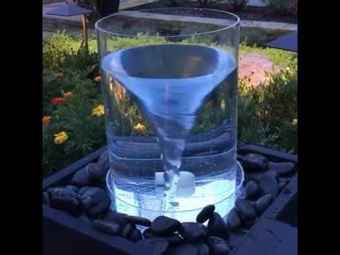 How To Make a Vortex Fountain – The Homemade Vortex Water Fountain