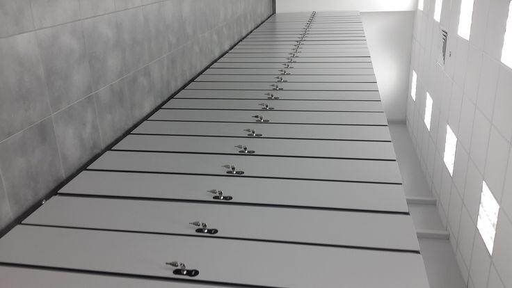 Секционная модульная спортивная мебель для раздевалок, шкафчики hpl Москва. Объявление строительного портала