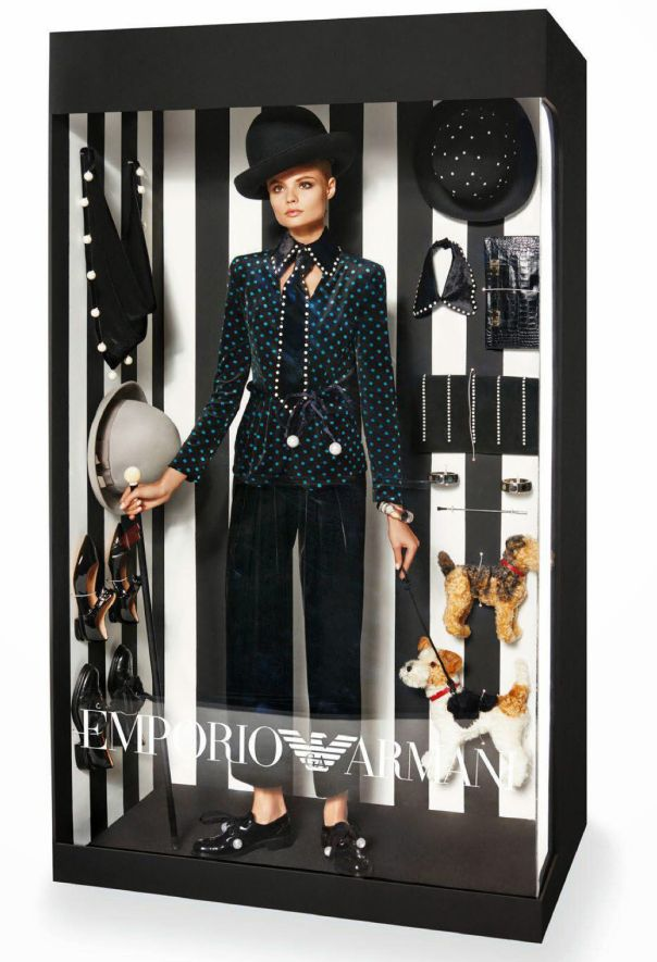 Elizabeth Erm, Magdalena Frackowiak by Giampaolo Sgura for Vogue Paris December:January 2014-2015 3