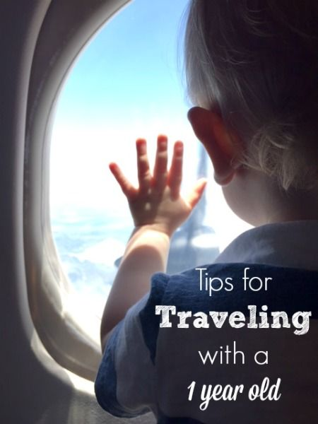 tips for traveling with a 1 year old // Life Anchored