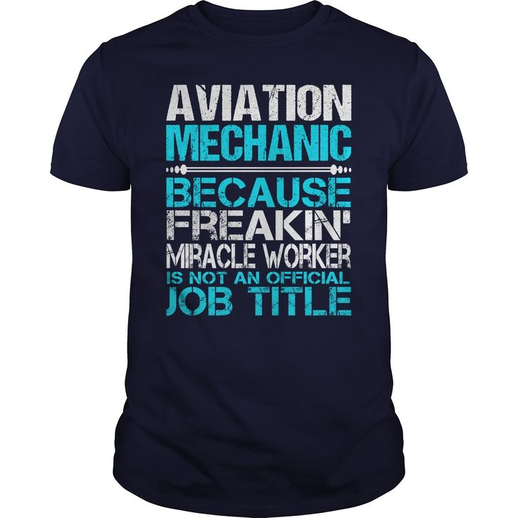 Awesome Tee For Aviation Mechanic T-Shirts, Hoodies. Get It Now ==> https://www.sunfrog.com/LifeStyle/Awesome-Tee-For-Aviation-Mechanic-114769909-Navy-Blue-Guys.html?id=41382