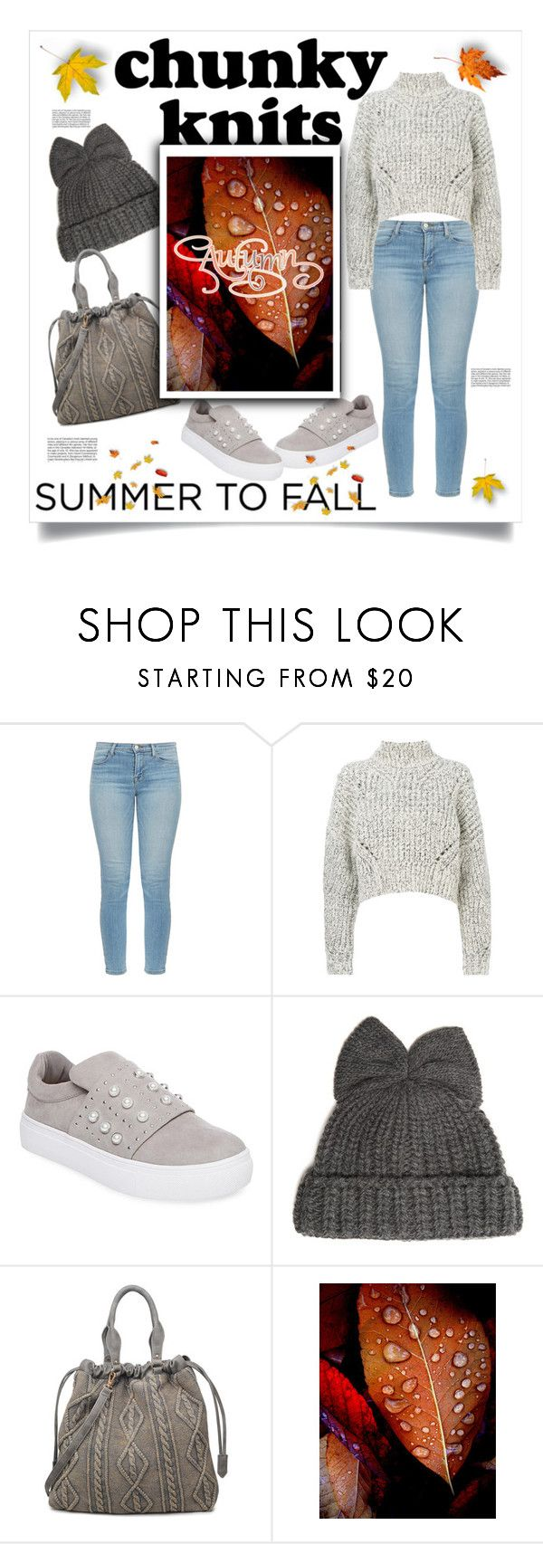 """""""get cozy: chunky knits"""" by jessicad110916 ❤ liked on Polyvore featuring J Brand, Isabel Marant, Steven by Steve Madden, Federica Moretti, Moda Luxe, sweaterweather, chunkyknit and AutumnIsComing"""