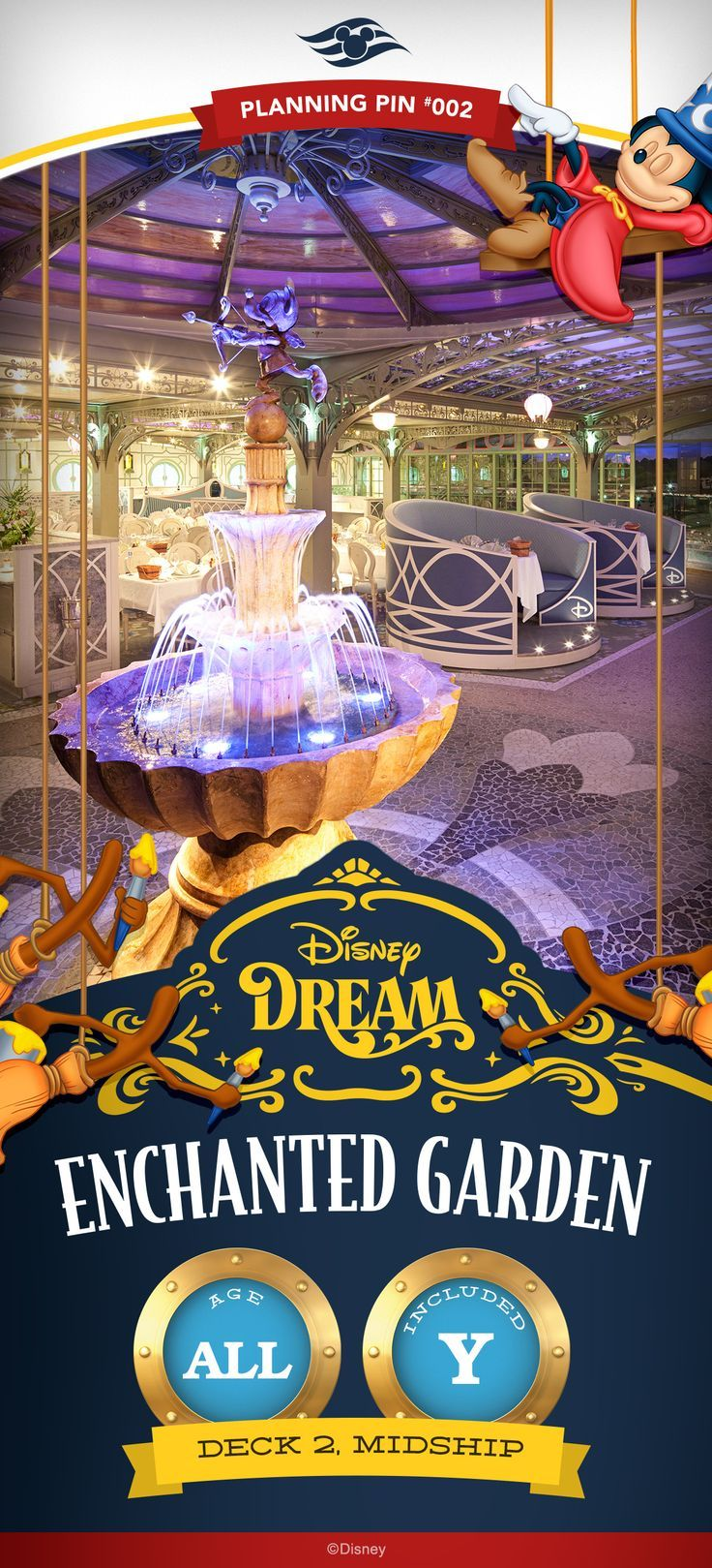 Best 25 disney cruise specials ideas only on pinterest disney disney cruise line planning pins disney dream enchanted garden more baanklon Gallery
