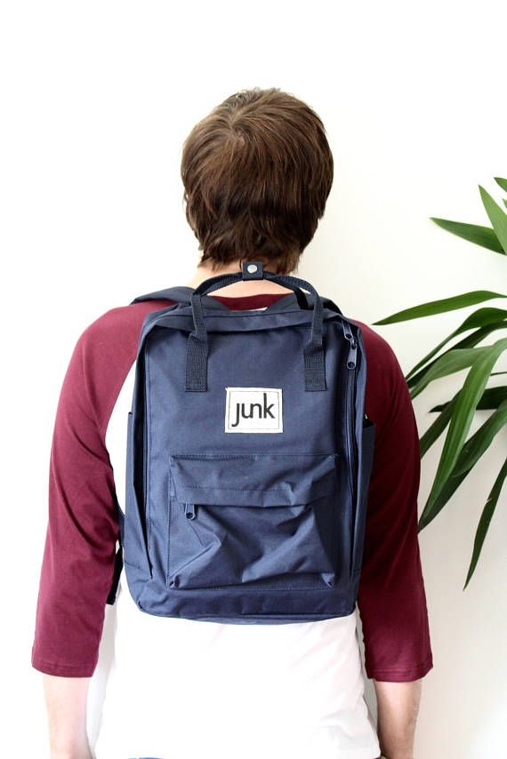 Junk Boardwear UNISEX urban rucksack in French Navy