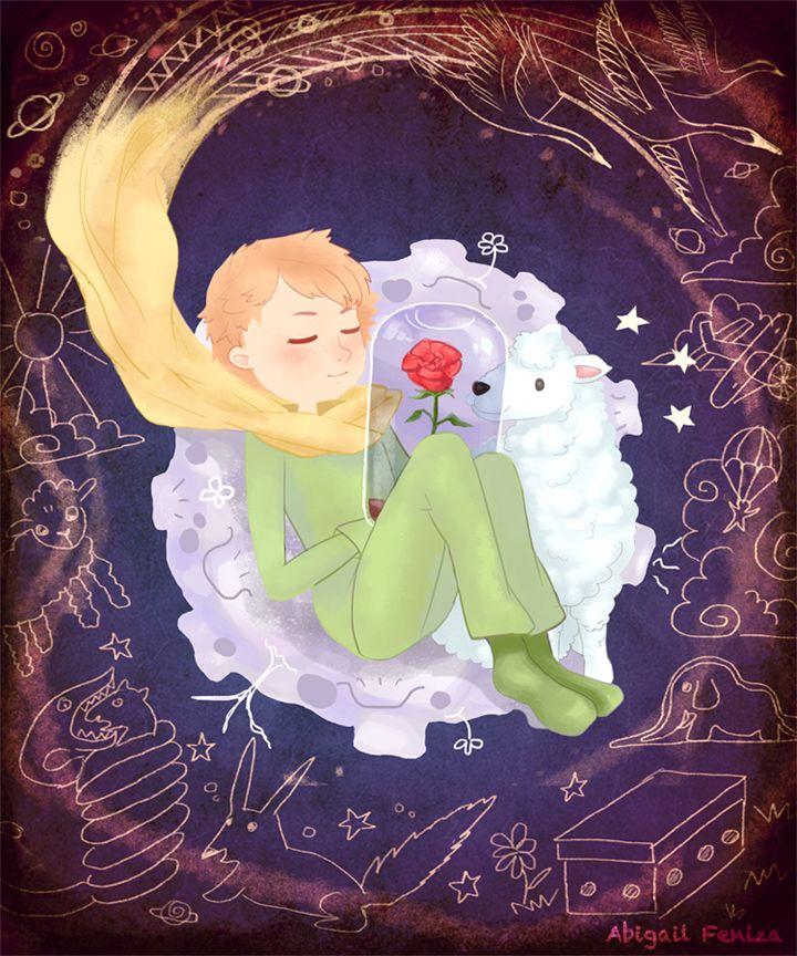"""Le Petit Prince"" by Abigail Feniza"