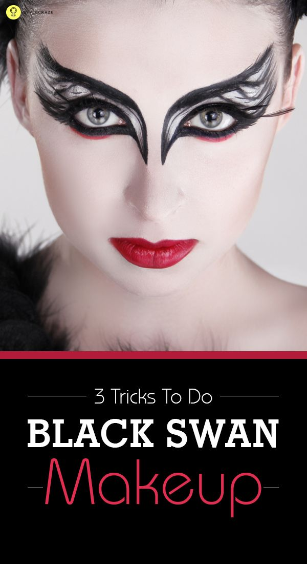 3 Tricks To Do Black Swan Makeup