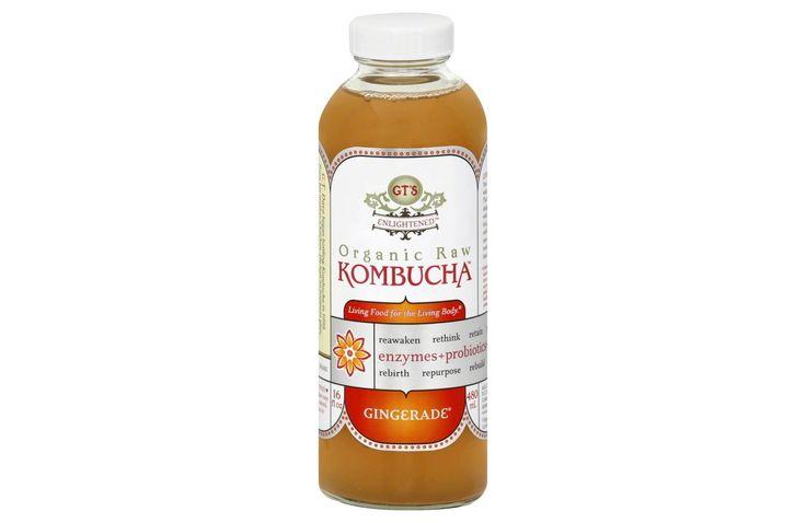 GT Enlightened Gingerade Organic Raw Kombucha, $4