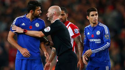Mobile live score Today livescore: Chelsea duo Diego Costa and Oscar separated after ...