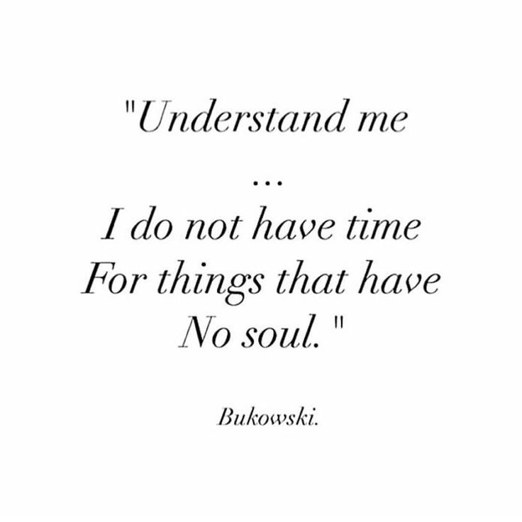 As Billy Joel sang...it's all about soul, it's all about faith and a deeper devotion! One of my favorite songs to run to...no time for no soul