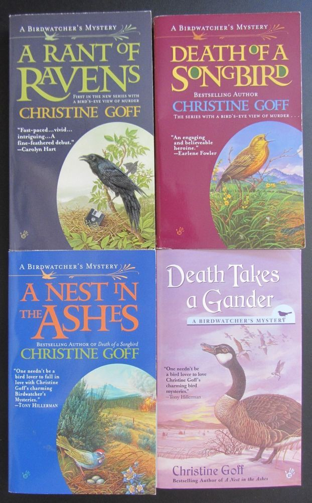 Lot 4 Signed Christine Goffbird Watcher Mysteriespbos1st Ed1st