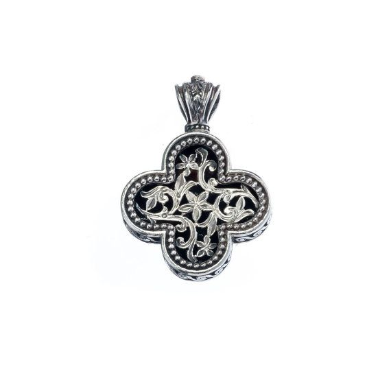 Check out this item in my Etsy shop https://www.etsy.com/listing/220070961/filigree-cross-in-sterling-silver-with-a