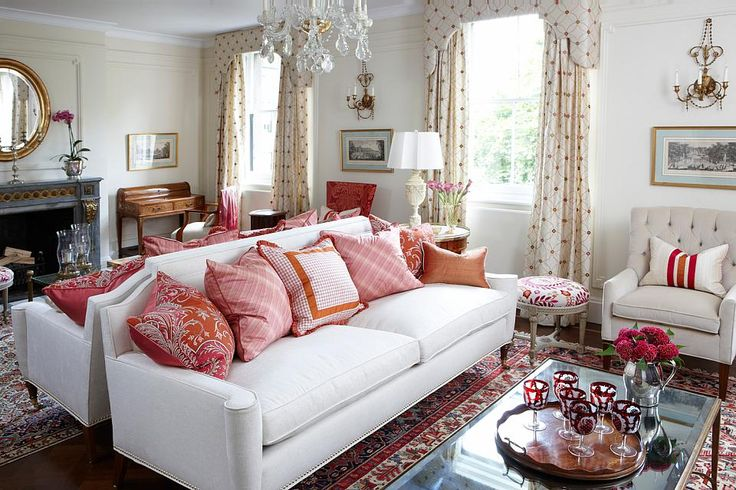Lovely Sarah Richardson London Flat Living Room   Love The Panelling, Side Table  Orientation And Regal Couch