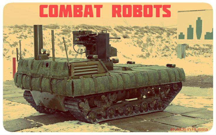 #Russian #CombatRobot #Platforma-M