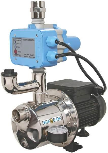Bur-Cam Pump 506532SS Shallow Well Jet Pumps, 3/4 Hp