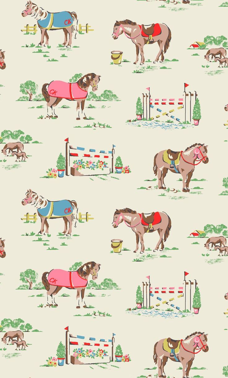 3022 best images about print pattern on pinterest for Kids horse fabric