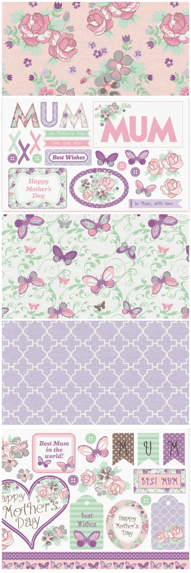 download these gorgeous free printable mothers day papers from the papercraft inspirations magazine website