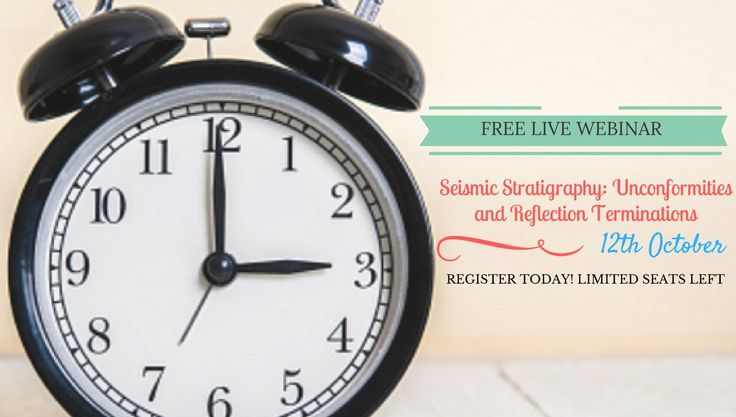 "#1daytogo Have you registered for the "" Seismic Stratigraphy"" #Webinar yet?"