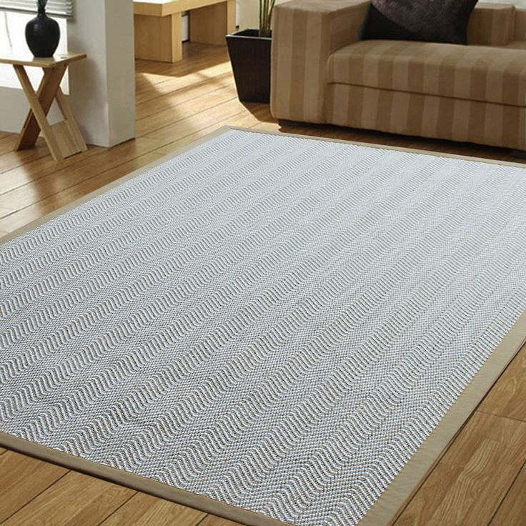 Powerloom Pet Sahara/ /Wool Herringbone Rug
