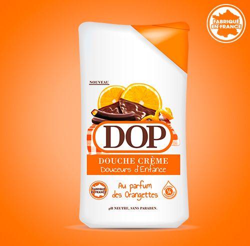 Douche Crème au parfum des Orangettes dop