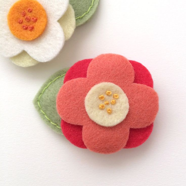 Hair Clips for Toddlers, Toddler Hair Accessory, Red Hair Clip, Toddler Hair Accessory, Hair Clips for Babies, Hair Clips Girls, Felt Clips by MangoMommyHairClips on Etsy