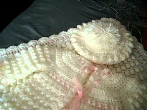 Crochet Along (CAL) - Baby Layette Set (Video 1) - Yolanda Soto Lopez - YouTube