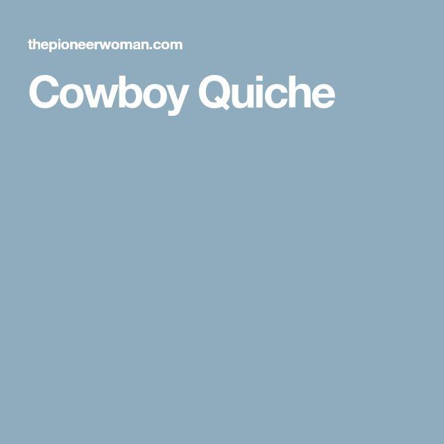 Cowboy Quiche