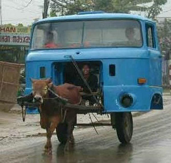 And the world's first mooving van. | 39 Indians You Wish You Knew In Real Life