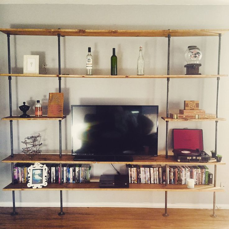 Pipe Entertainment Center