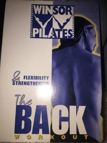 "Winsor Pilates ""The Back Workout"" DVD"