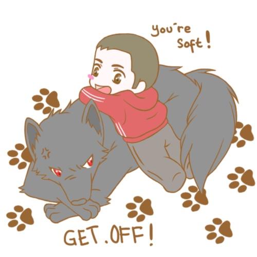 ah! too cute sterek