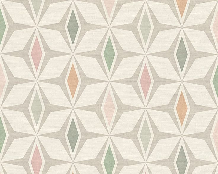 Die besten 25+ Geometrische tapete Ideen auf Pinterest Moderne - tapete grau beige
