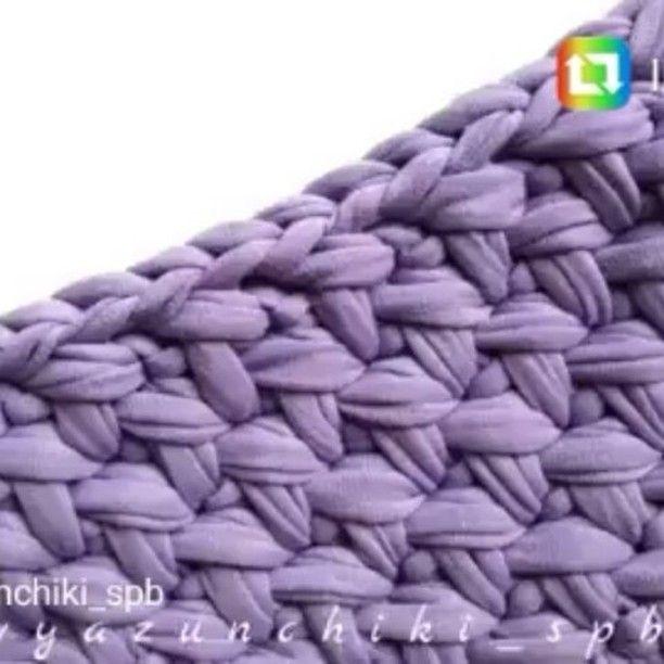 """586 curtidas, 16 comentários - Arqtª. Eliza Buzzetti (@arquiteturaecroche) no Instagram: """"O ponto que vcs queriam.. By @vyazunchiki_spb  #crochet #croche #handmade #tapete #fiodemalha…"""""""