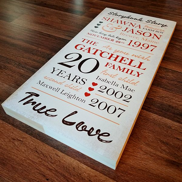Beautiful custom Home Décor wooden plaque printed with UV inks on the LogoJET UVx90 UV-LED Direct to Substrate Printer.