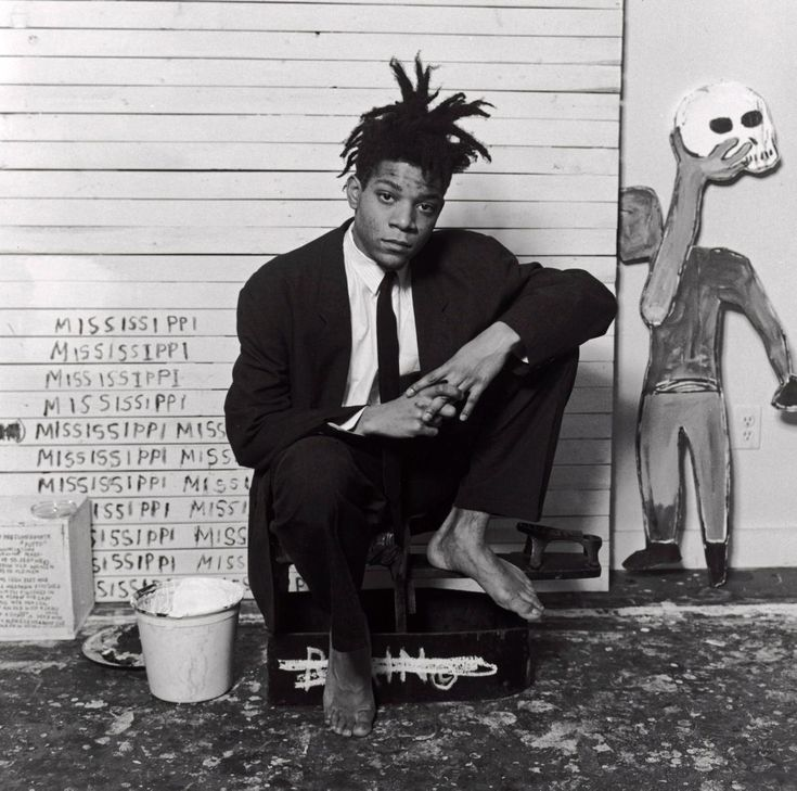 Jean-Michel Basquiat -- a Brooklyn artist who brought hip hop, post-punk and street art together -- gained international acclaim for his Neo-expressionist and Primitivist paintings in the 1960s before he died of a heroin overdose at his art studio in New York City's NoHo neighborhood. He was 27.