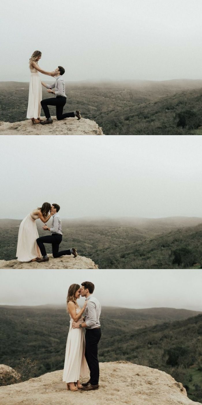 Everything about this scavenger hunt proposal is beyond perfect, and the photos are stunning.